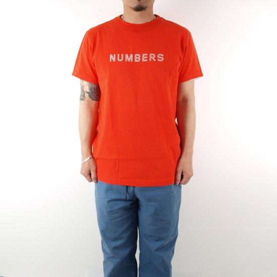 NUMBERS OUTLINE WORDMARK S/S T-SHIRT