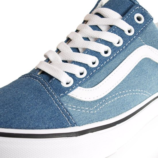 VANS OLD SKOOL DENIM 2-TONE BLUE/TRUE WHITE