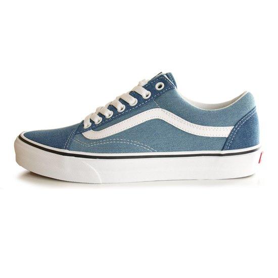 【VANS】OLD SKOOL DENIM 2-TONE BLUE/TRUE WHITE【シューズ・スニーカー・靴】