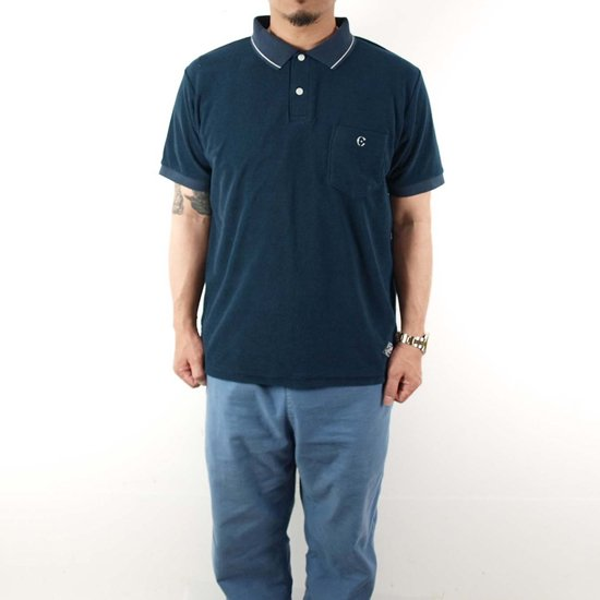 CLUCT PILE POLO SHIRT