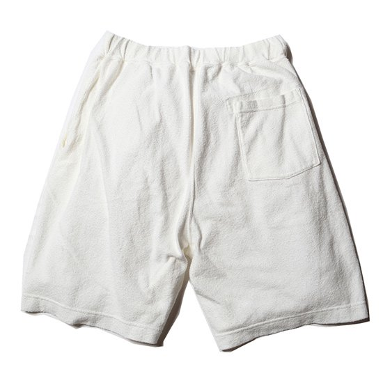 CALEE 【SALE20%OFF】PILE SHORT PANTS