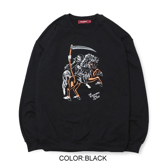 HideandSeek REAPER SWEAT SHIRT