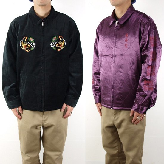 RADIALL 【SALE20%OFF】PEAFOWL SOUVENIR JACKET