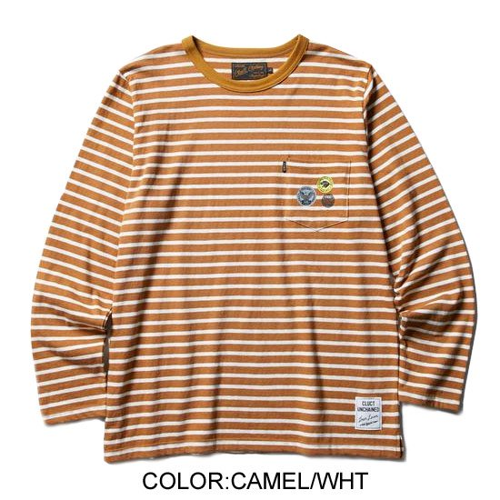 CLUCT L/S WOOL PKT CREW