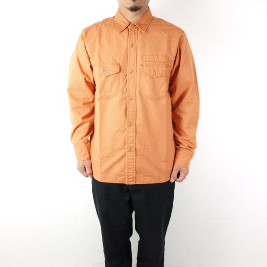 RADIALL CIRCLE OF LOVE REGULAR COLLARED SHIRT L/S