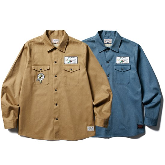 CLUCT WORK L/S SHIRT