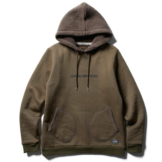 【CLUCT】HOODED BOA PARKA【ボアパーカー】