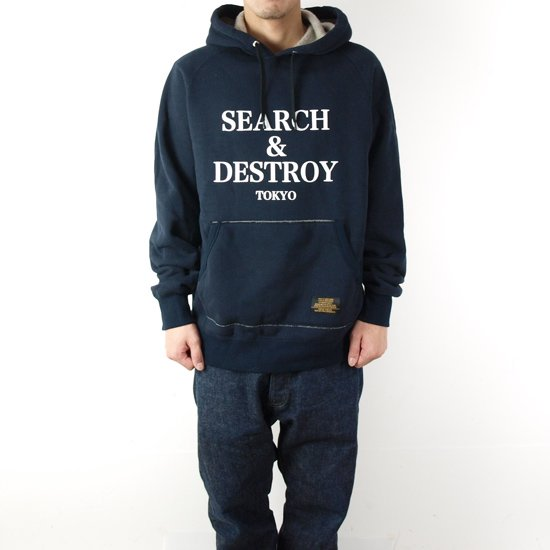 ROUGH AND RUGGED CHAMP HOODED SWEAT