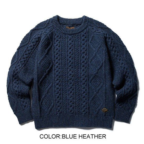 CLUCT <img class='new_mark_img1' src='https://img.shop-pro.jp/img/new/icons35.gif' style='border:none;display:inline;margin:0px;padding:0px;width:auto;' />【SALE30%off】FISHERMAN SWEATER