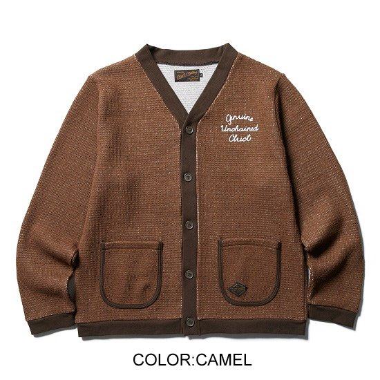 CLUCT ORIGINAL WOOL CARDIGAN