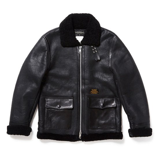 【ROUGH AND RUGGED】SHIELD JKT【レザージャケット】