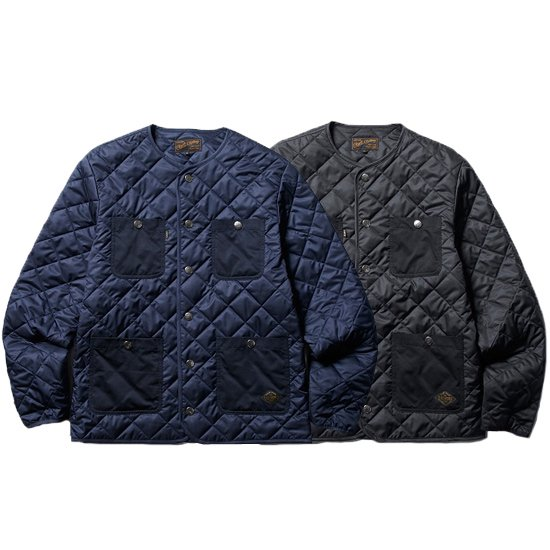 【CLUCT】QUILT LIGHT JACKET【ノーカーラージャケット】