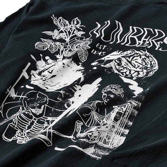 NUMBERS COLLAGE L/S TEE
