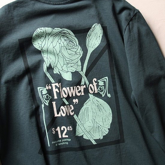 NUMBERS FLOWER OF LOVE L/S TEE