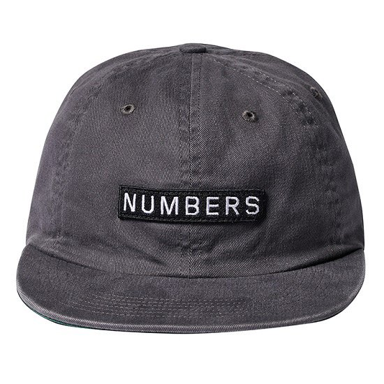 【NUMBERS・ナンバーズ】LOGO TYPE TWILL 6 PANEL CAP【キャップ】