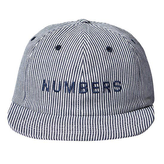 【NUMBERS・ナンバーズ】WORD MARK DENIM 6 PANEL CAP【キャップ】