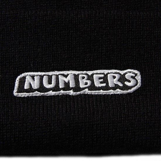 NUMBERS DROP SHADOW BEANIE