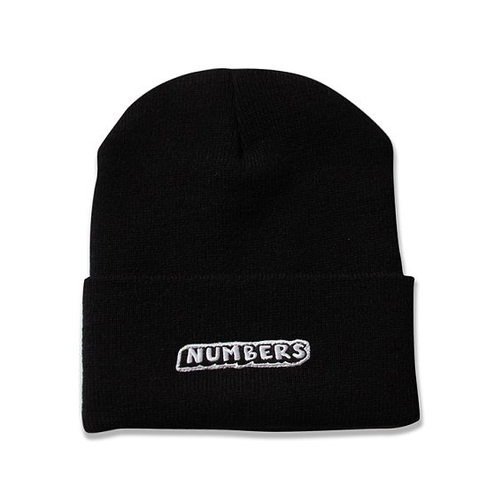 【NUMBERS・ナンバーズ】DROP SHADOW BEANIE【ニットキャップ】