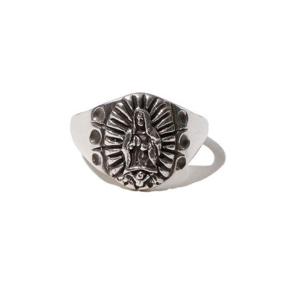 RADIALL LOWRIDER CHARM RING 【SILVER】