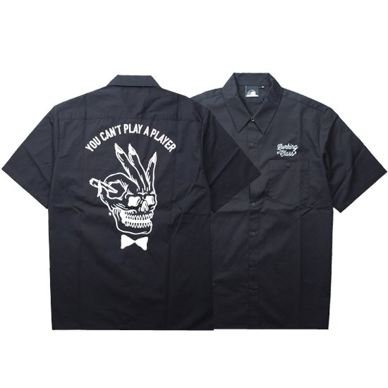 【LURKING CLASS(SKETCHY TANK)】PLAYER WORK SHIRT【ワークシャツ】