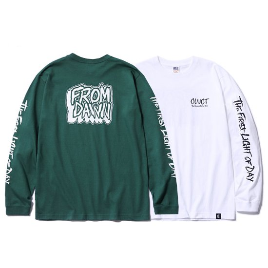 【CLUCT/クラクト】L/S TEE FROM DAWN【ロンTシャツ】