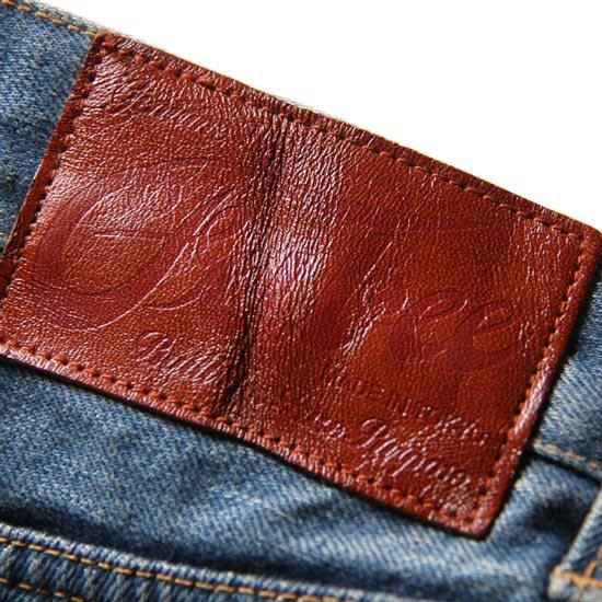 CALEE USED TAPERED SLIM DENIM PANTS SS04