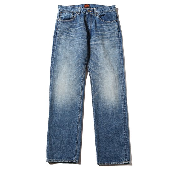 【CALEE】USED TAPERED SLIM DENIM PANTS SS04【ユーズスリムデニム】