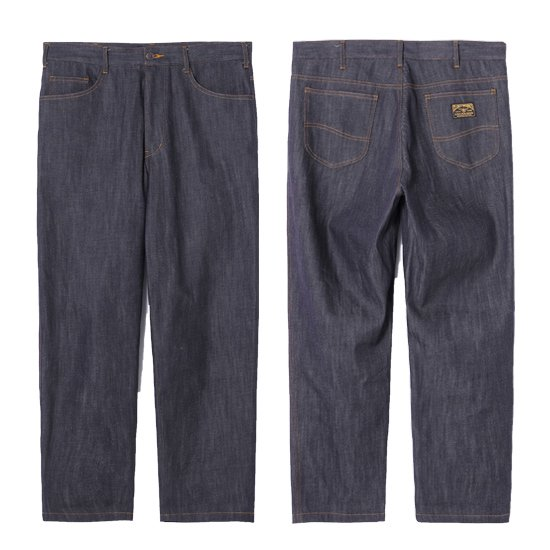 【CLUCT】SHIN DENIM BAGGY PANTS【バギーデニムパンツ】