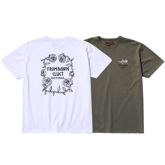 【CLUCT/クラクト】S/S TEE ROSE【Tシャツ】