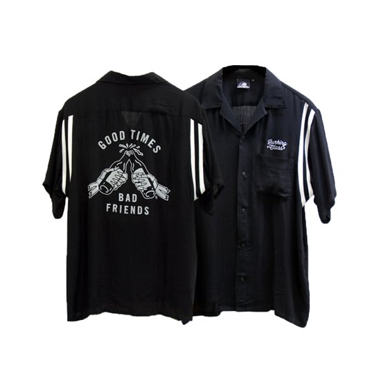 【LURKING CLASS(SKETCHY TANK)】GOOD TIMES BOWLING SHIRT【ボーリングシャツ】