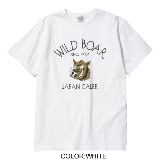 CALEE WASHED BOAR T-SHIRT