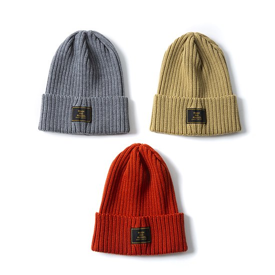 【ROUGH AND RUGGED 】LUMBER JACK KNIT CAP【ニットキャップ】
