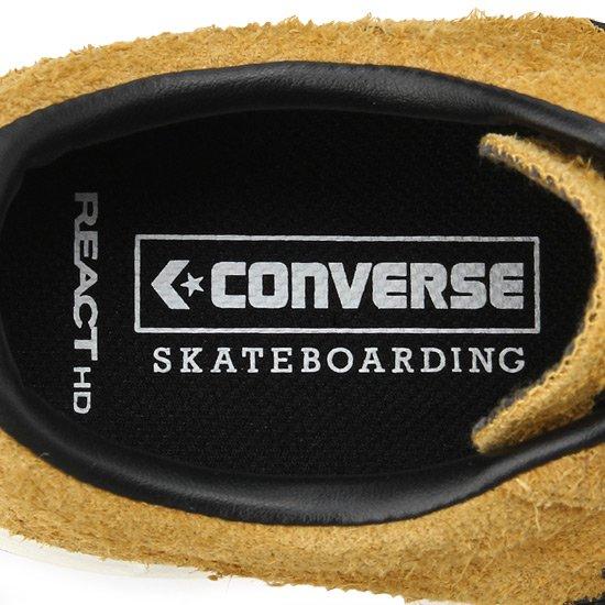 CONVERSE SKATEBOARDING PRORIDE SK OX + GOLD/BLACK