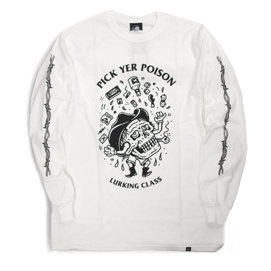 【LURKING CLASS】POISON L/S TEE【ロンT】