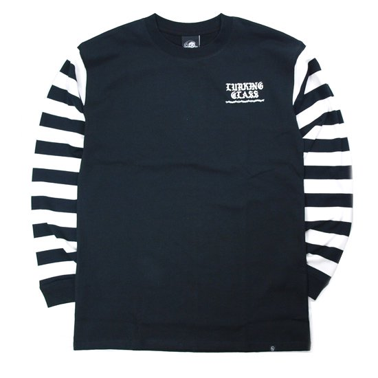 【LURKING CLASS】CHEESE BORDER L/S TEE【ロンT】