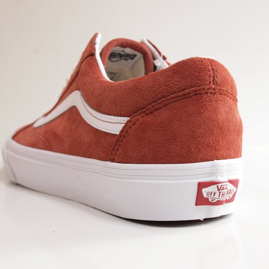 VANS OLD SKOOL PIG SUEDE BURNT BRICK