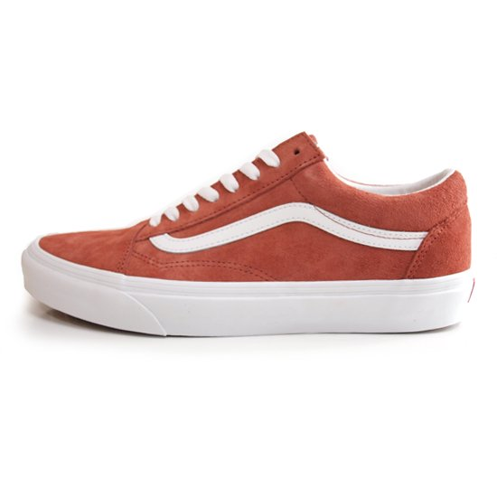 【VANS】OLD SKOOL PIG SUEDE BURNT BRICK【シューズ・スニーカー・靴】