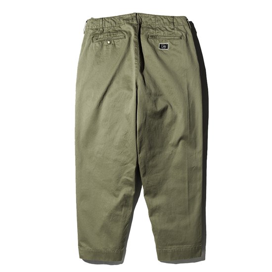 CALEE WEST POINT WIDE CHINO PANTS