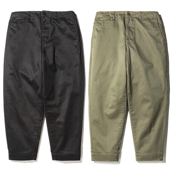 【CALEE】WEST POINT WIDE CHINO PANTS【チノパン】