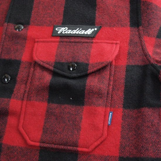 RADIALL FLAGS - REGULAR COLLARED SHIRT L/S
