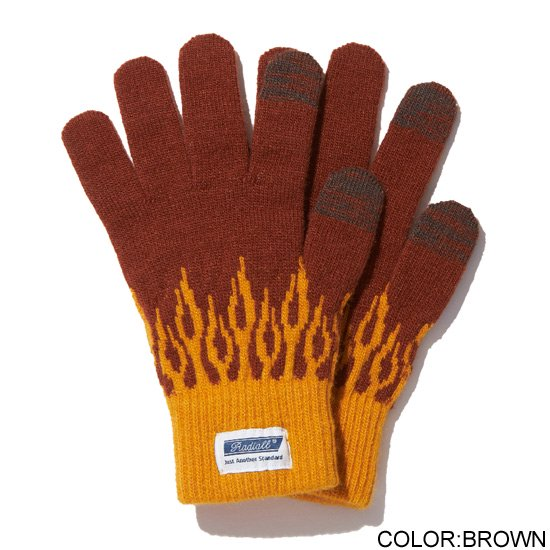 RADIALL FLAMES - JACQUARD GLOVES