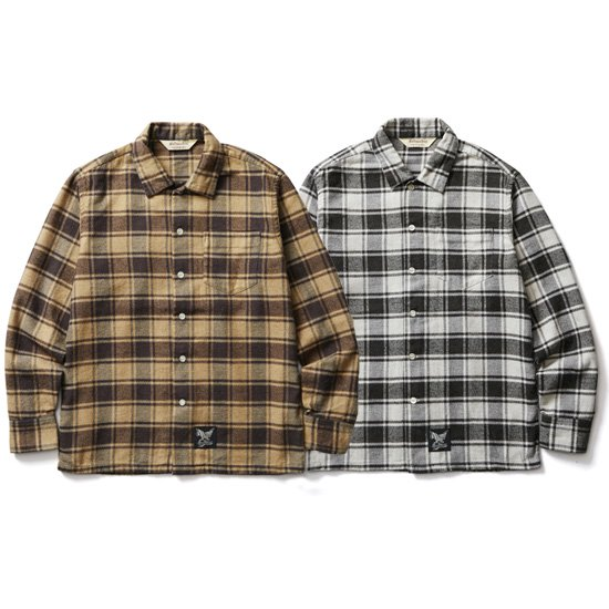 【SOFT MACHINE】PHAT FLANNEL SHIRTS【ネルシャツ】
