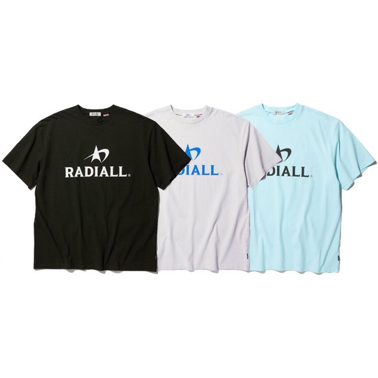 【RADIALL】LOGOTYPE - CREW NECK T-SHIRT S/S【Tシャツ】
