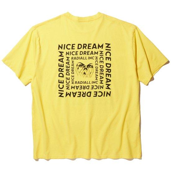 RADIALL NICE DREAM - CREW NECK T-SHIRT S/S