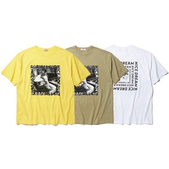 【RADIALL】NICE DREAM - CREW NECK T-SHIRT S/S【Tシャツ】