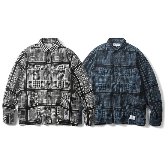 【ROUGH AND RUGGED】IDEE LS SHIRT【ガーゼシャツ】