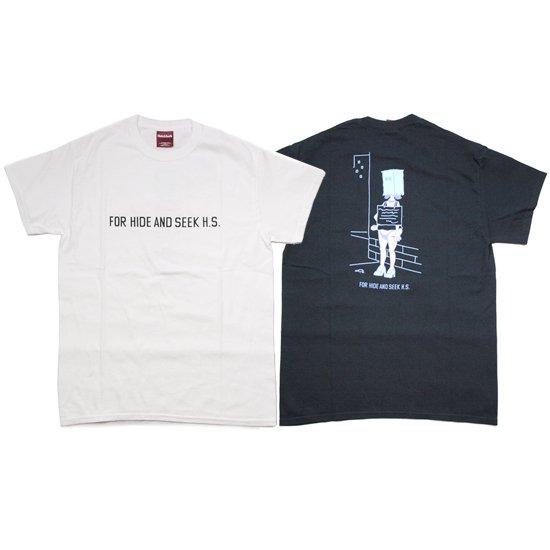【HideandSeek/ハイアンドシーク】MASK S/S TEE【Tシャツ】