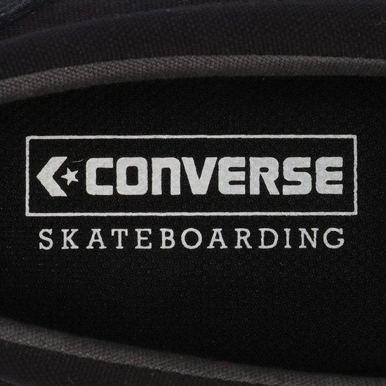 CONVERSE SKATEBOARDING CS LOAFER SK BLACK MONOCHROME