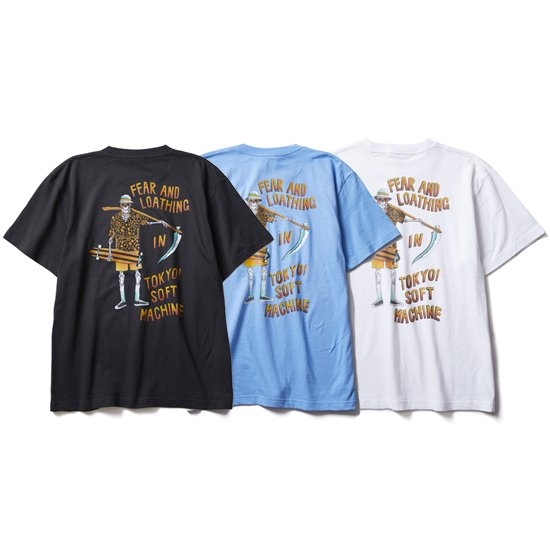 【SOFT MACHINE】GONZO-T S/S POCKET SHIRTS【ポケティーシャツ】