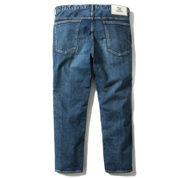 ROUGH AND RUGGED FOUL MARK DENIM PANTS